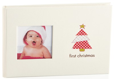 First Christmas Bragbook Photo Album  -