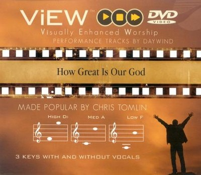 How Great Is Our God, Accompaniment DVD   -     By: Chris Tomlin