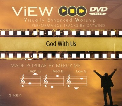 God With Us, Accompaniment DVD   -     By: MercyMe