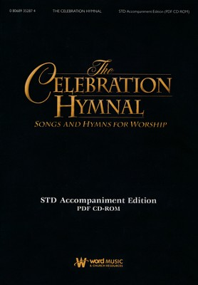 The Celebration Hymnal: Accompaniment Rhythm/Guitar  KJV (CD-ROM w/PDF files)  -