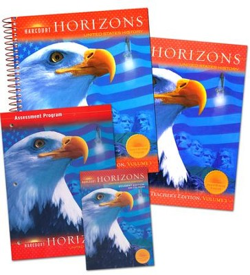 Harcourt Horizons Grade 5 Homeschool Package with Teacher's Edition  -
