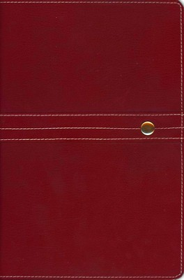 NIV Archaeological Study Bible, Bonded Leather Red 1984, Case of 6  -