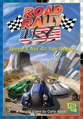 Road Rally U.S.A. Game   -
