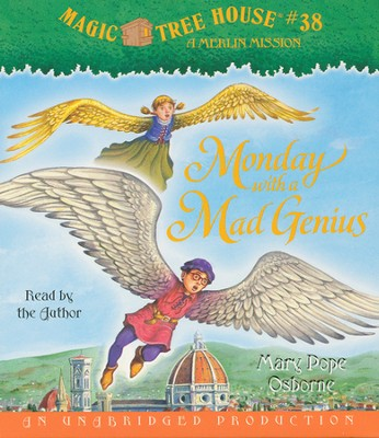 Magic Tree House #38: Monday with a Mad Genius Unabridged Audiobook on CD  -     By: Mary Pope Osborne