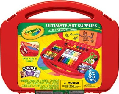 Crayola, Ultimate Art Supplies and Easel  -