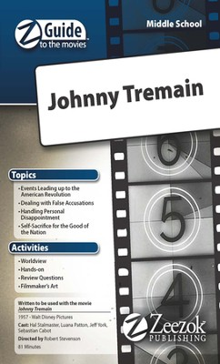 Johnny Tremain Movie Guide CD Z-Guide to the Movies  -