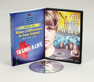 To Save a Life, DVD & Dare to Make A Difference In Your School:   And Your Life, Softcover  -