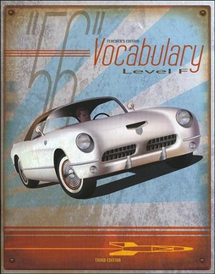 BJU Vocabulary Teacher's Edition, Level F (Grade 12) Third Edition  -