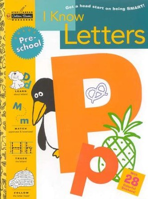 I Know Letters (Preschool)  -