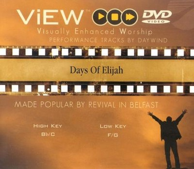 Days of Elijah, Accompaniment DVD   -     By: Robin Mark