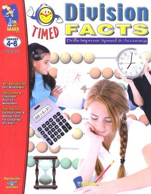 Timed Division Facts, Grades 4-6   -