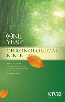 The One Year Chronological Bible NIV, Hardcover   -