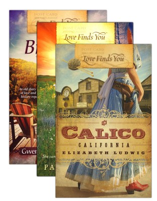Love Finds You Historical Romance Pack, 3 Volumes   -