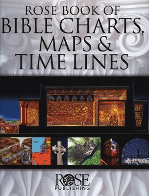 Rose Book of Bible Charts, Maps & Timelines, slightly imperfect  -