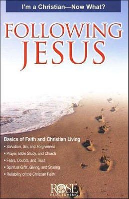 Following Jesus, Pamphlet   -