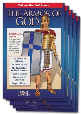 The Armor of God, pack of 5   -