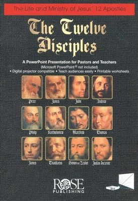 The Twelve Disciples: PowerPoint CD-ROM  -