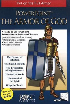 The Armor of God: PowerPoint CD-ROM   -