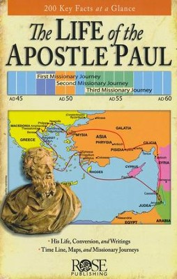 The Life of the Apostle Paul, Pamphlet   -