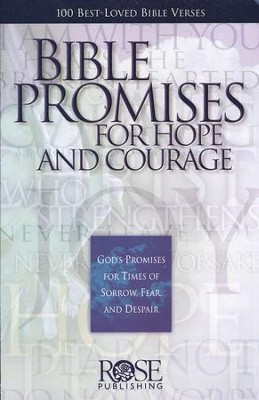 Bible Promises for Hope and Courage, Pamphlet    -