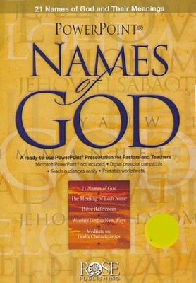 Names of God - PowerPoint CD-ROM   -