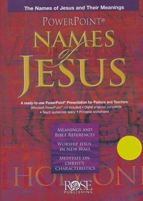 The Names of Jesus: PowerPoint CD-ROM  -