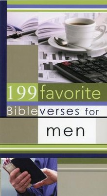 199 Favorite Bible Verses for Men  -