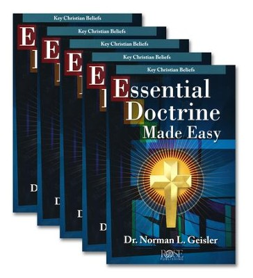 Essential Doctrine Made Easy Pamphlet - 5 Pack  -