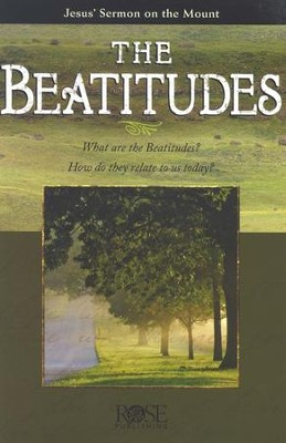 The Beatitudes, Pamphlet - 5 Pack   -