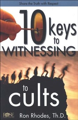 10 Keys to Witnessing to Cults, Pamphlet   -
