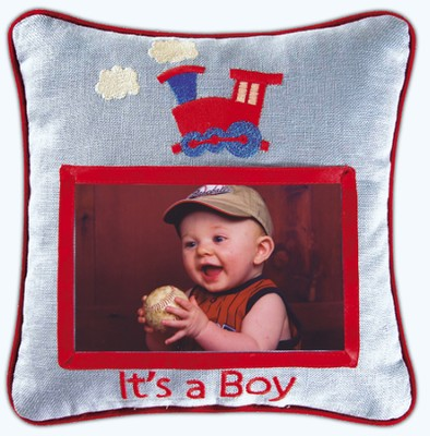 Photo Pillow, It's a Boy  -