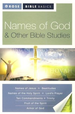 Names of God & Other Bible Studies  -