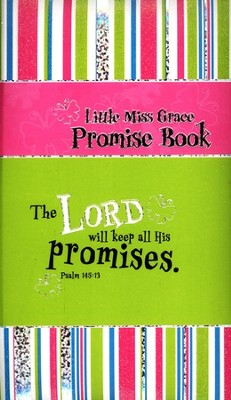 Little Miss Grace Promise Book  -