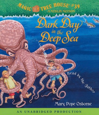 Magic Tree House #39: Dark Day in the Deep Unabridged Audiobook on CD  -     By: Mary Pope Osborne