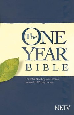 The NKJV One Year Bible, Softcover  -