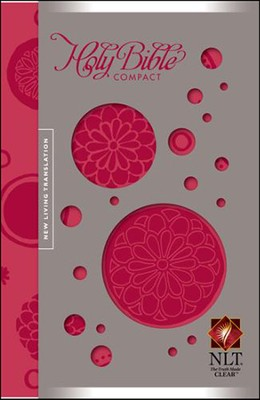 NLT Compact Edition, Bloom-a-dot Leatherlike  -     By: Tyndale