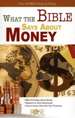 What the Bible Says About Money, Pamphlet   -