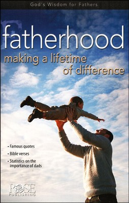 Fatherhood: Making a Lifetime of Difference, Pamphlet -  5 Pack  -