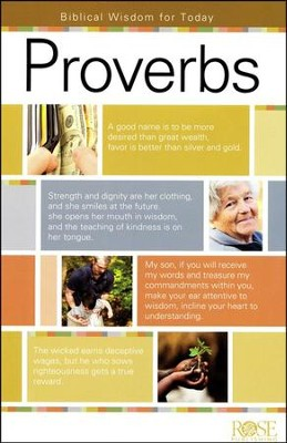 Proverbs Pamphlet - 5 Pack  -