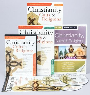 Christianity, Cults & Religions DVD Curriculum Kit  -     By: Paul Cardin