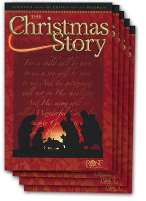 Christmas Story Pamphlet - 5 Pack  -