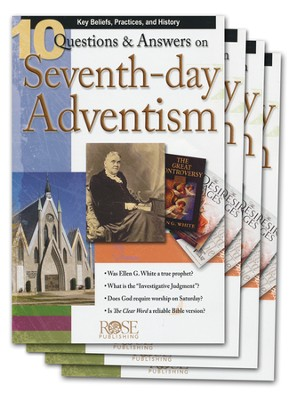 10 Questions & Answers on Seventh-day Adventism Pamphlet - 5 Pack  -