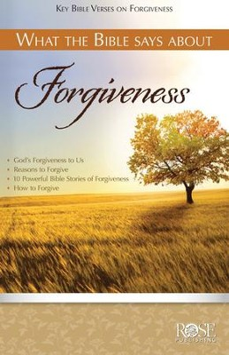 What the Bible Says about Forgiveness Pamphlet  -