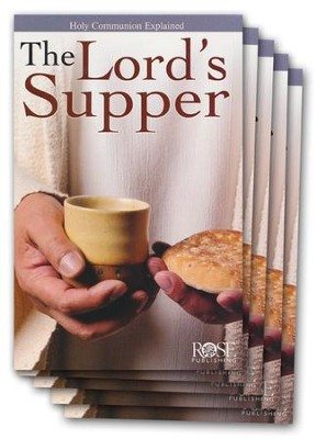 The Lord's Supper, Pamphlet - 5 Pack   -