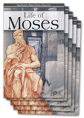 Life of Moses Pamphlet - 5 Pack  -