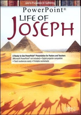 Life of Joseph: PowerPoint CD-ROM  -