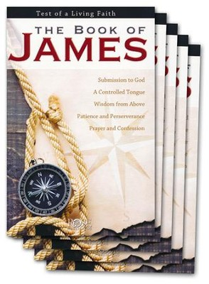 The Book of James, Pamphlet - 5 Pack   -