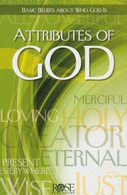 Attributes of God, Pamphlet  -