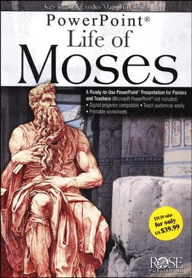 Life of Moses, PowerPoint  -