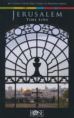 Jerusalem Time Line, Pamphlet  -